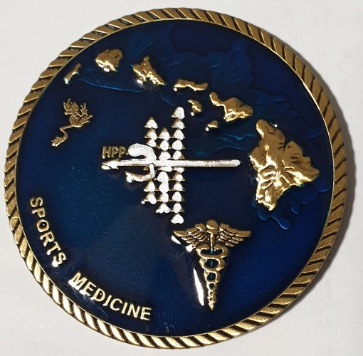 Authentic Rare Seal Delivery Vehicle Team One SDVT-1 Sports Medicine SEAL Team challenge coin front
