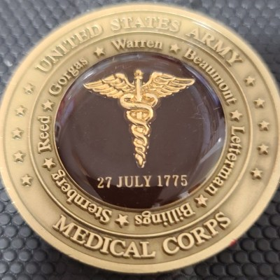 US Army Chief of the Medical Corps BG Commanding General Challenge Coin