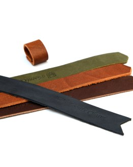 Handcrafted Leather Bookmarks