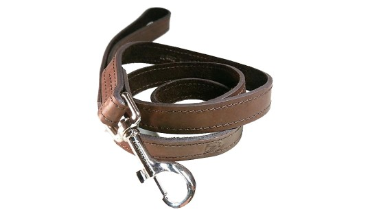 Handcrafted Premium Soft Leather Dog Lead- Brown