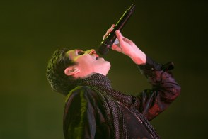 Perry Farrell of Jane's Addiction performs live in concert at the Arizona State Fair.