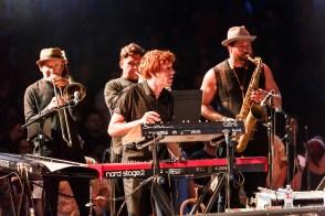 Keyboardist and Horns