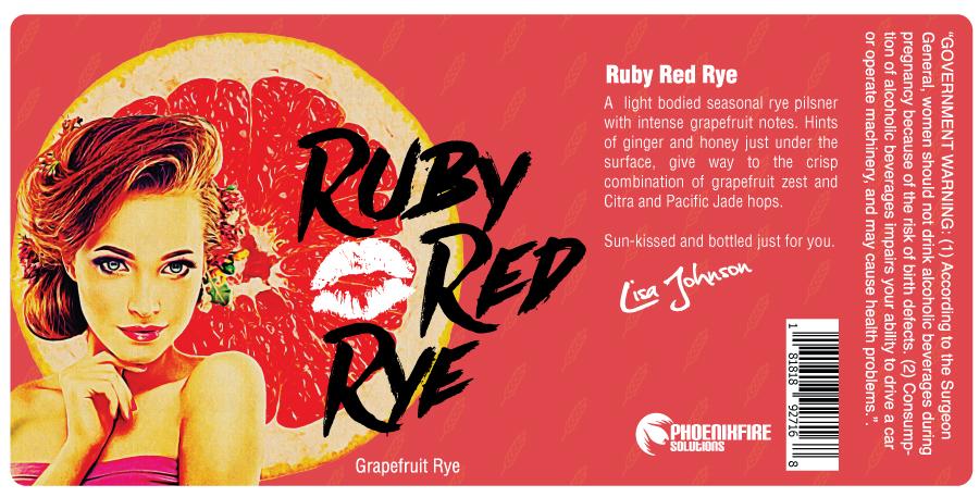 Ruby Red Rye