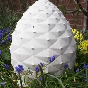 Fir Cone Garden Memorial Sculpture