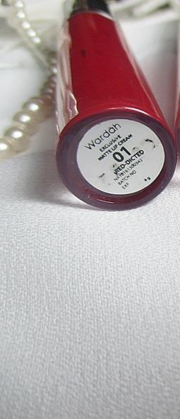 Wardah Exclusive Lip Cream Reddicted #01