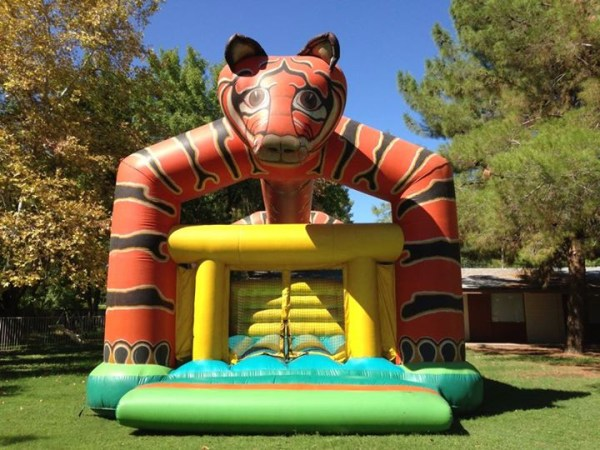Tiger-bouncy-rental