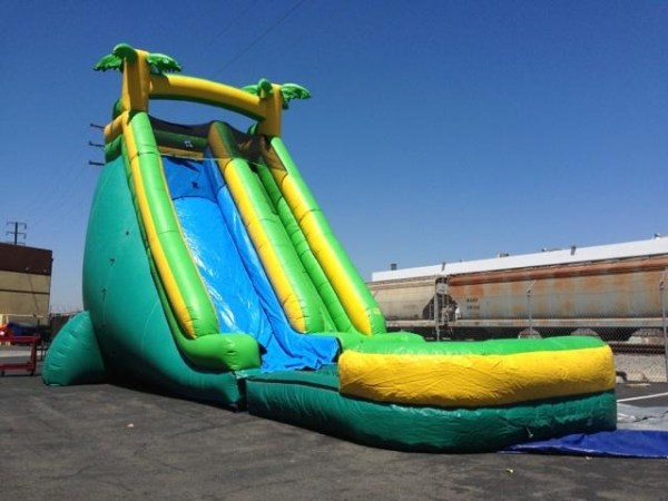27 ft tropical slide