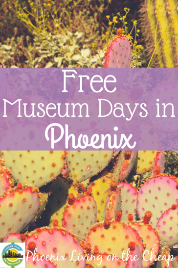 Love visiting museums but don't love expensive museum ticket prices? You don't have to become a member to enjoy the stunning museums Phoenix offers. Many of Phoenix's best museums offer free museum days to the public, and Phoenix Living on the Cheap has the scoop on the best, free museum days you can't miss.