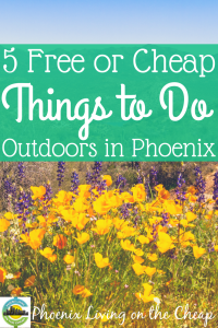 Looking for fun outdoor activities in Phoenix? Take advantage of our great winter weather with these free outdoor activities!