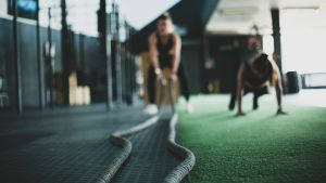 Image of ropes and fitness