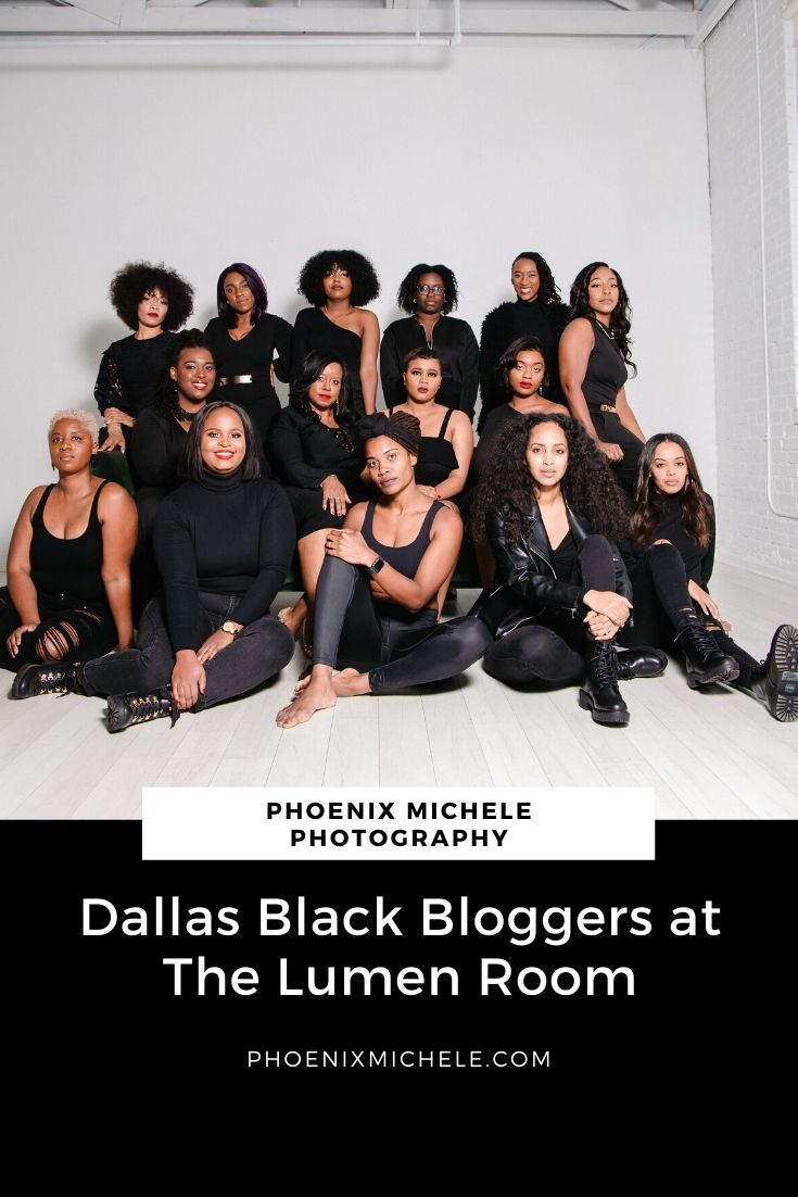 Dallas Black Bloggers Photoshoot at The Lumen Room - Dallas