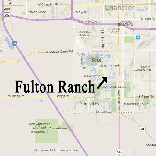 Open Houses of Fulton Ranch homes for sale