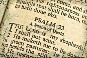 Jean's Gospel: Psalm 23 1