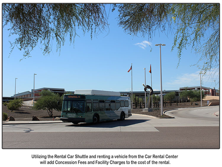 Avoid Airport Fees by renting from Phoenix Car Rental