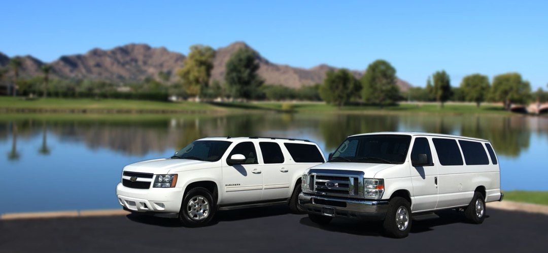 Suburban and Large Passenger Van for Rent in Phoenix Arizona