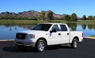 Ford Supercrew Pickup Truck for rent in Phoenix, Arizona