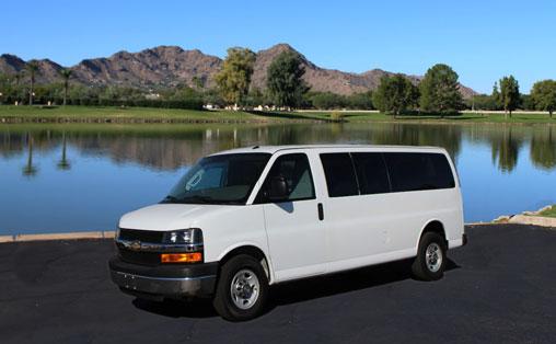Phoenix Van Rental 15 Passenger Express