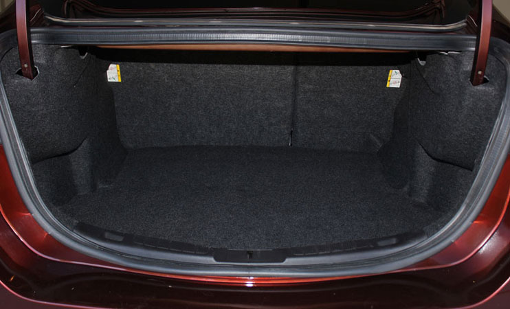 Ford Fusion Trunk Space