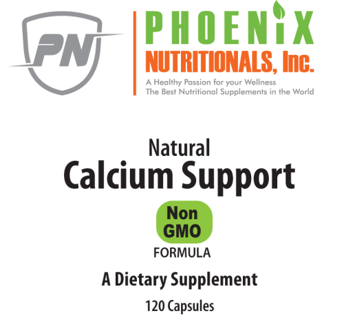 Natural Calcium Support, The only combination of Calcium, Magnesium, Zinc, and Potassium that contains the essential trace nutrients necessary for maximum absorption.