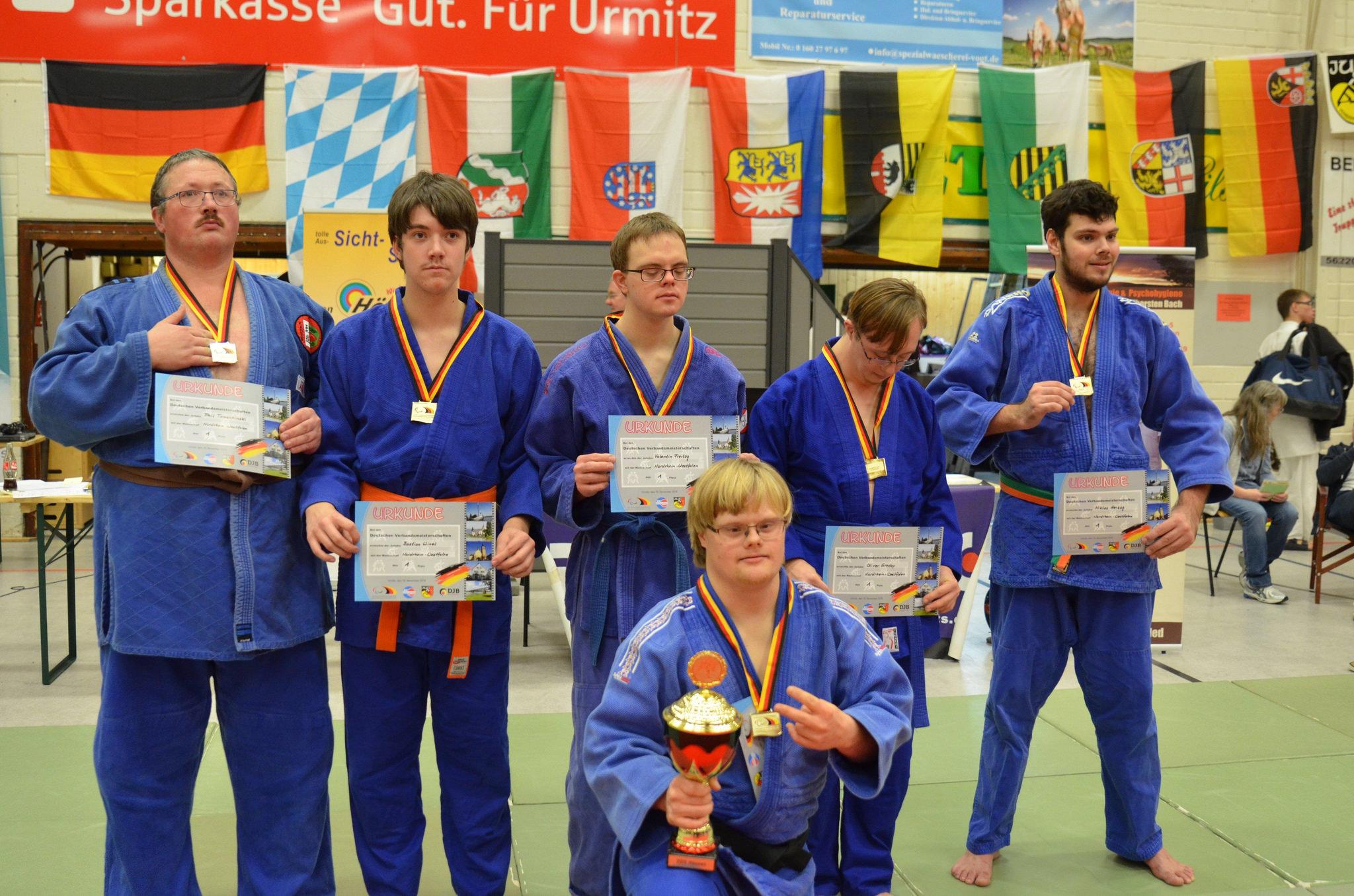 Deutsche Meisterschaften d.V. G-Judo 2017