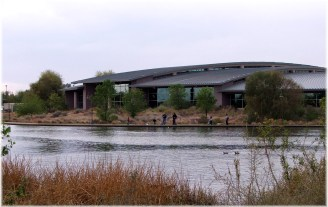 library-on-lake