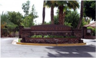 Wellington Estates Entrance