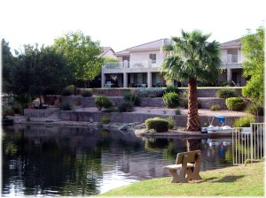 Springs waterfront home