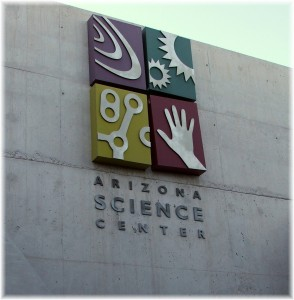 Arizona Science Center Entrance