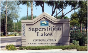 Superstition Lakes Condominiums in Mesa