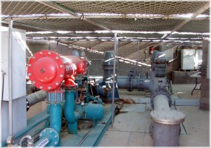Pumping Station at Ocotillo Lakes