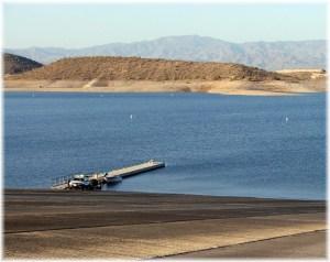 Lake Pleasant Boat Ramp
