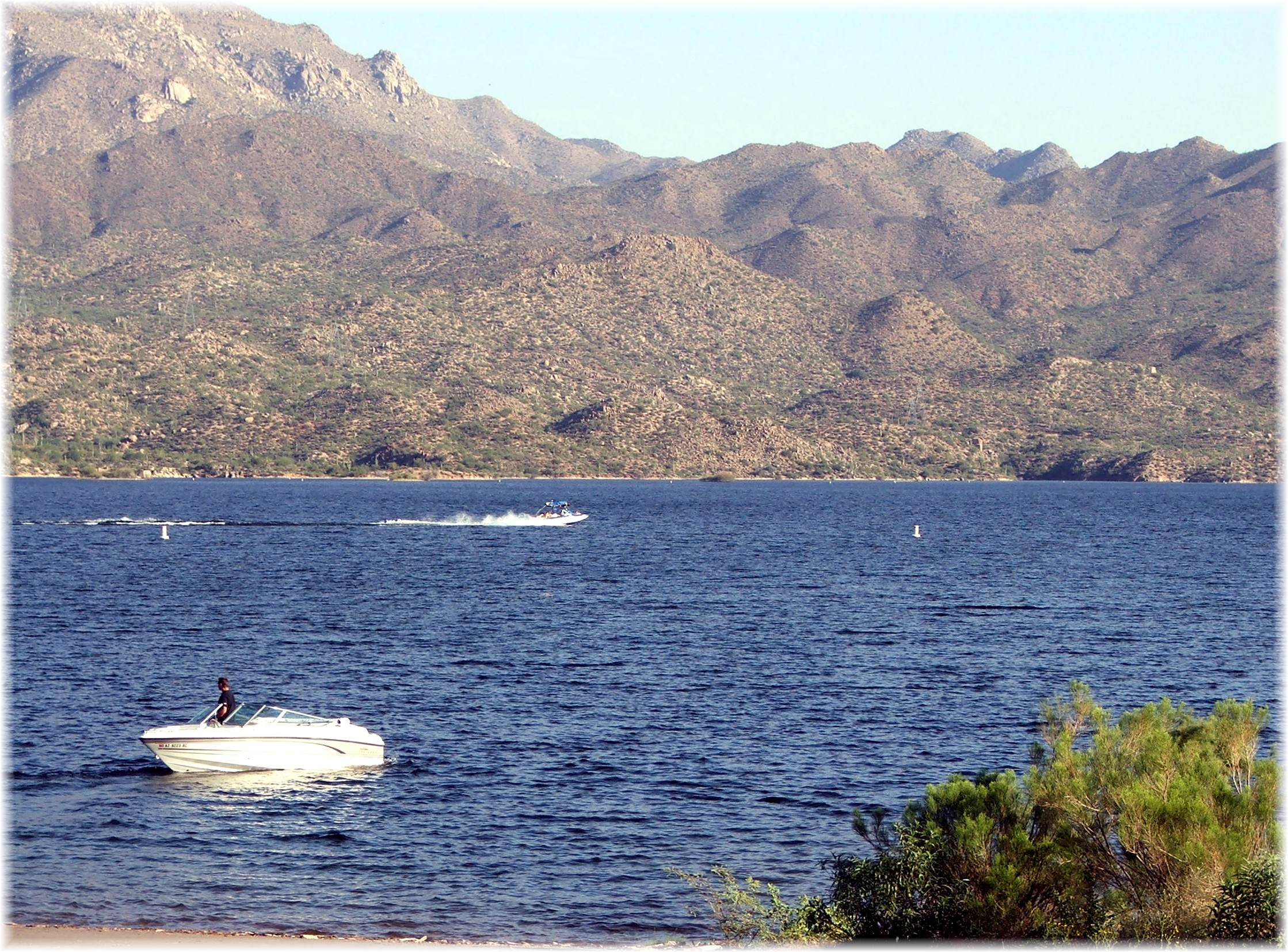 Bartlett Lake from shore – Phoenix Arizona Waterfront Homes