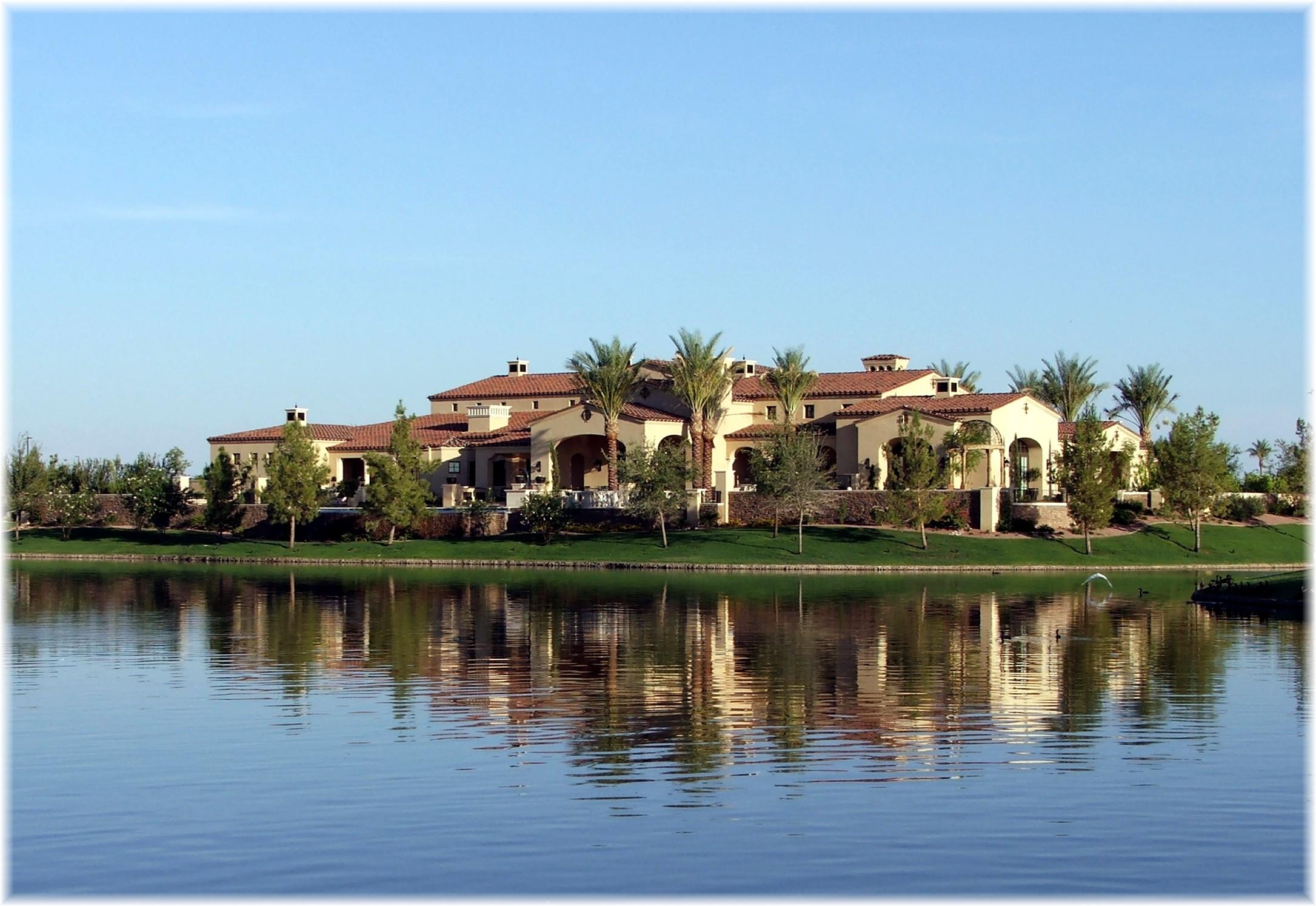 chandler az waterfront homes and lake communities phoenix arizona