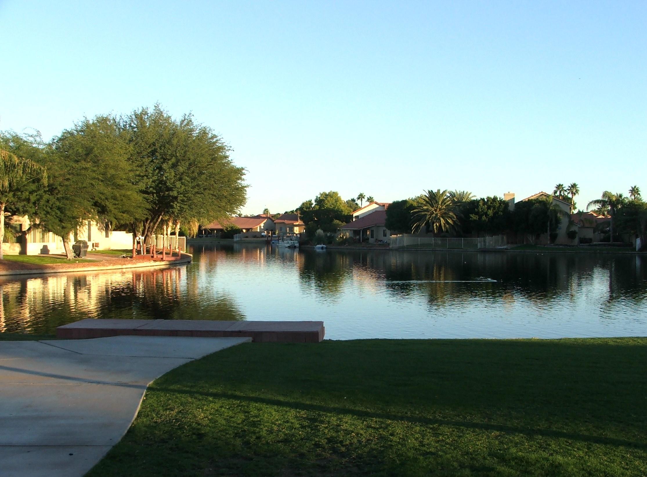 Garden lakes waterfront homes in avondale phoenix - Garden city union free school district ...