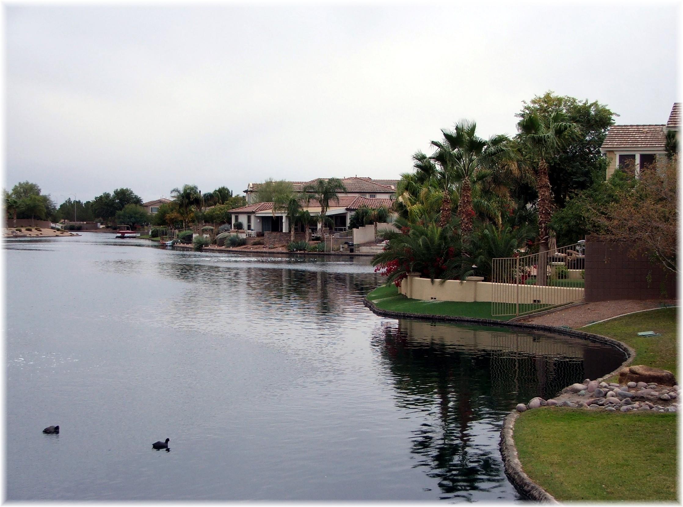 pinelake estates waterfront homes in chandler az phoenix arizona