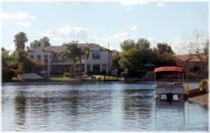 Waterfront and Pontoon Boat
