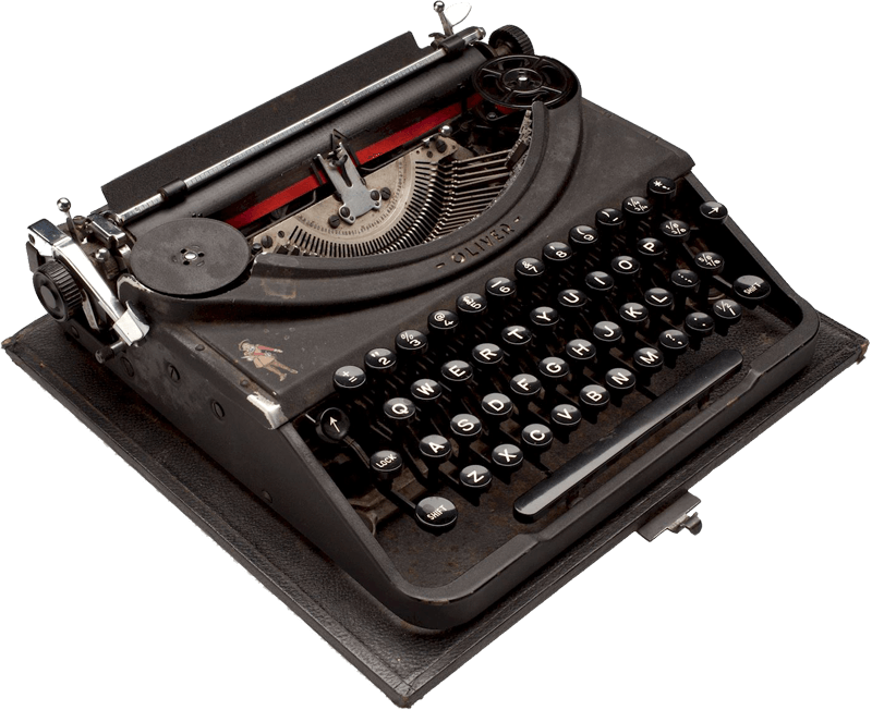 portable copy writing typewriter