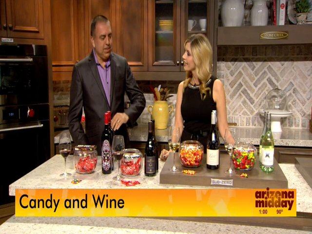 Wine and Candy Pairing