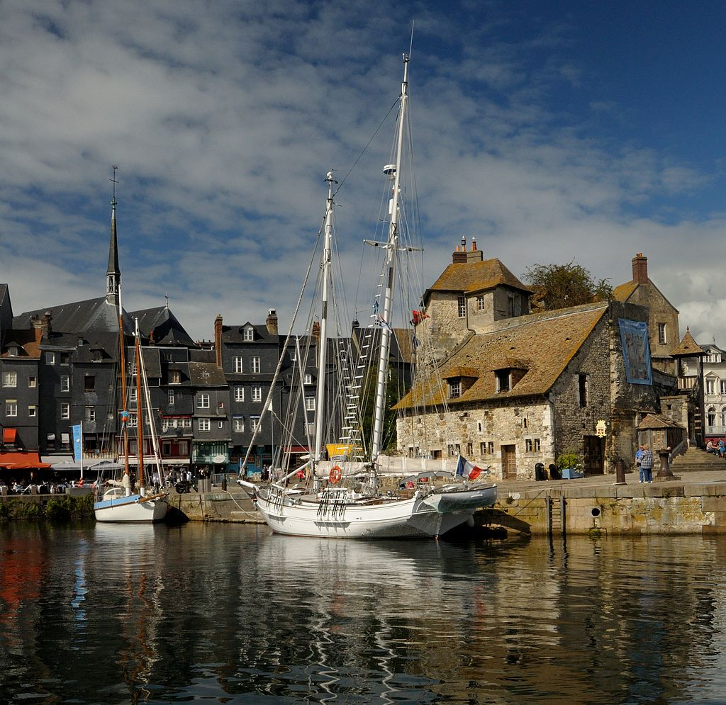 The old pier at Honfleur