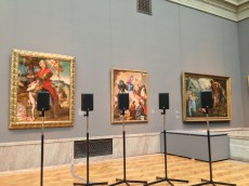 Last Wednesday I went to the Cleveland Museum of Art where was set up - we recently saw/heard this in Toronto and it is great