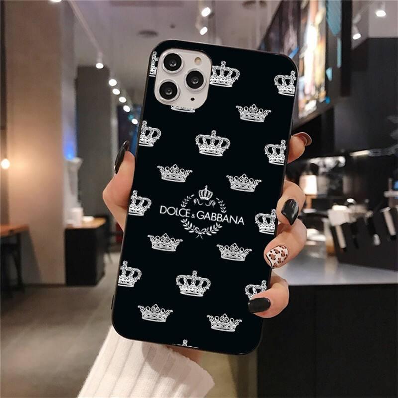 Luxury Letter Brand Label DG Phone Case For iphone 12 11 Pro Max Mini XS Max 8 7 6 6S Plus X 5S SE 2020 XR cover