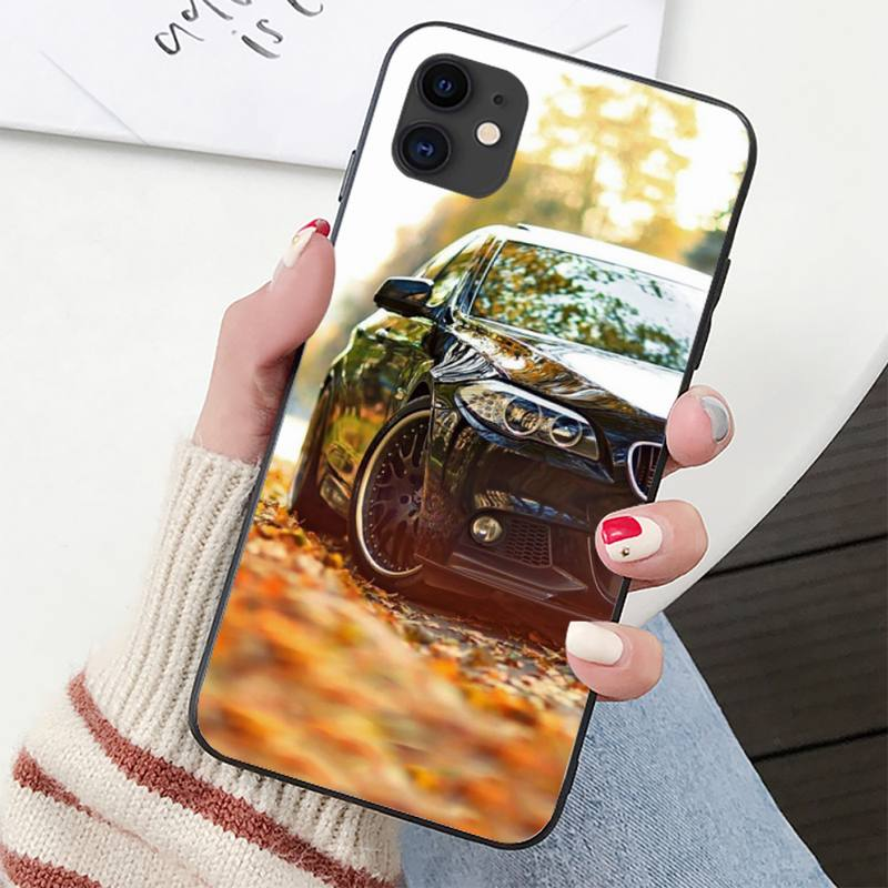YNDFCNB Sports Cars Men Phone Case for iPhone 11 12 pro XS MAX 8 7 6 6S Plus X 5S SE 2020 XR cover