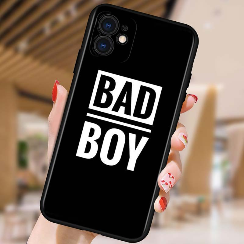 Silicone Cover Bad Boy Why Not For Apple IPhone 12 Mini 11 Pro XS MAX XR X 8 7 6S 6 Plus 5S SE Phone Case