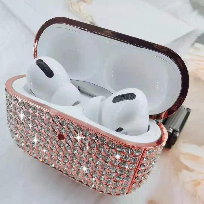 Case For Airpods pro Case Diamond Cover For Apple AirPods Pro 2 1 Case Accessories Wireless Earphone New Luxury Bling Rhinestone