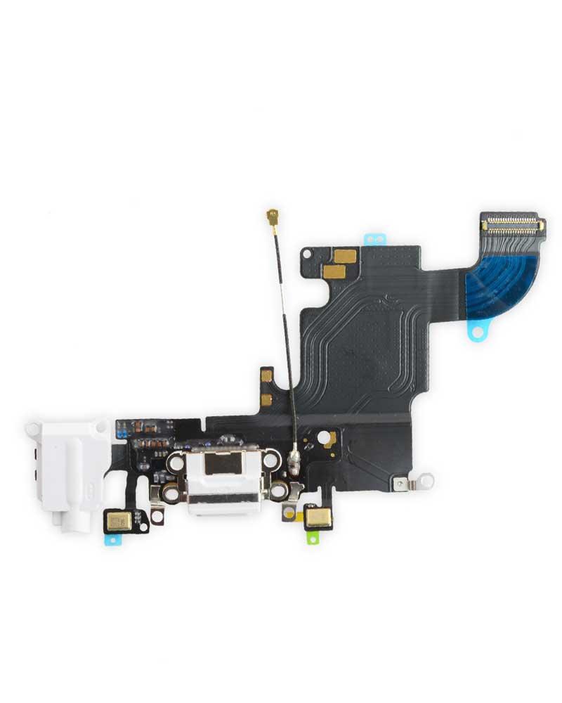 Laddport - iPhone 6s - Vit