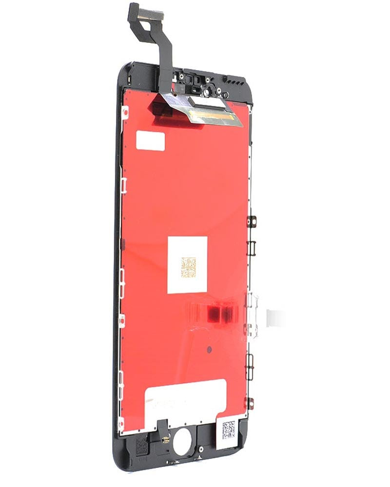 Display, Glas, Skärm, Display - iPhone 6s Plus - Svart