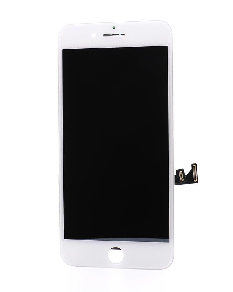 Display, Glas, Skärm, Display - iPhone 8 Plus - Vit