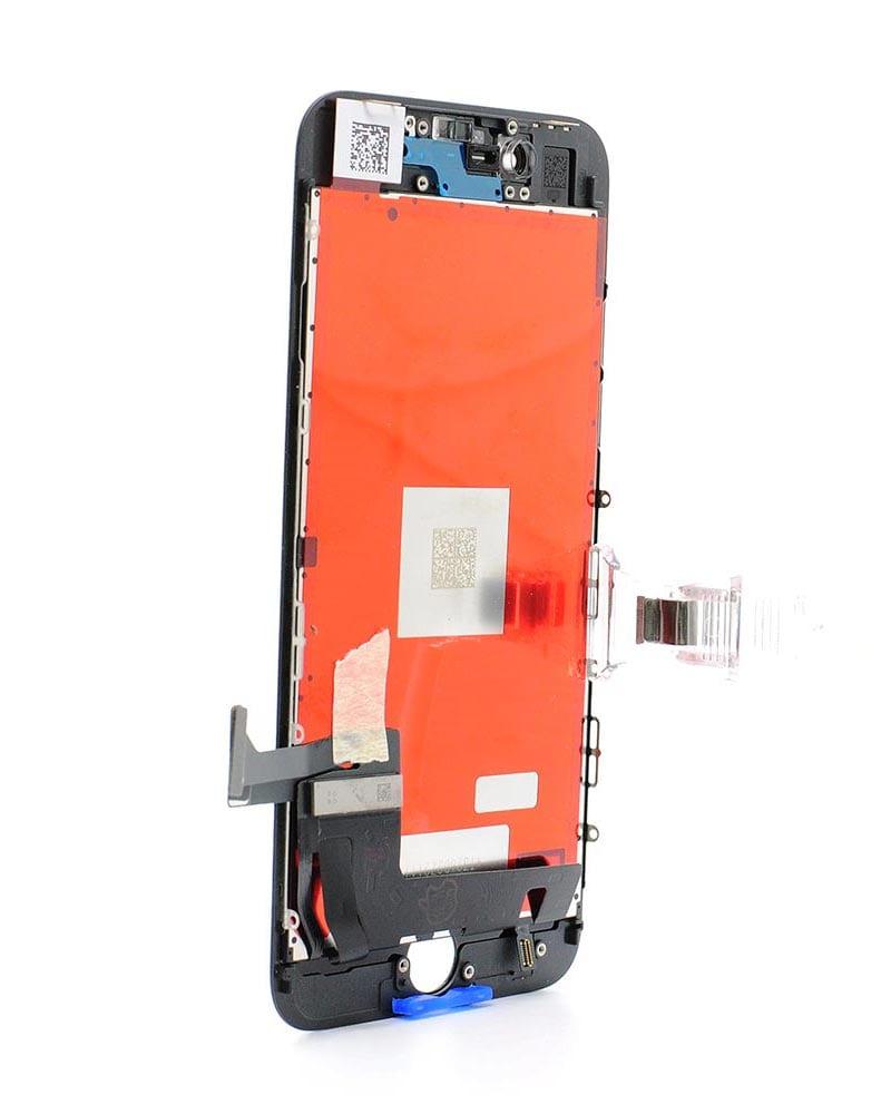 Display, Glas, LCD - iPhone 8 - Svart