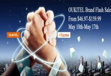 OUKITEL Brand Flash Sale on AliExpress