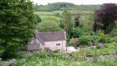 Childhood home of Laurie Lee